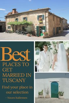 Do you wish to have a wedding in Italie? Discovers the best places to get married in Tuscany! #wedding #tuscany #mariage #weddingplanner #weddingdecoration #bestplaces #best #weddinglocations #italy #italie #couples #married #guide #toscana #summer #picsoftheday #travel #weddingtravel #insolite #beautiful #travel #toscana #toscane #locations #weddingdecors #selection Wedding Places, Wedding Locations, Places To Get Married, Got Married, Tuscan Wedding, Places In Italy, The Good Place, The Selection, Wedding Decorations