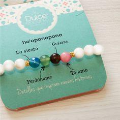 Pulsera Hooponopono #Pulseras #Accesoriosparamujer #TiendaOnline #Colombia Cute Jewelry, Diy Jewelry, Beaded Jewelry, Handmade Jewelry, Jewelry Making, Beaded Bracelets, Bracelet Crafts, How To Make Necklaces, Diy Accessories