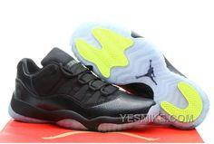 huge selection of 837a7 25d4c Authentic Cheap Air Jordan 11 Discount yellow black nike shoe clearance for  sale Authentic Cheap Air Jordan 11 xi retro shoe for men