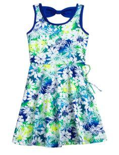 Embellished Bow Back Dress | Girls Dresses Clothes | Shop Justice