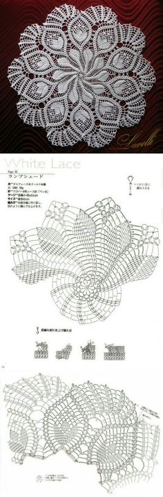 Lots of free crochet doily patterns here. Filet Crochet, Mandala Au Crochet, Crochet Doily Diagram, Crochet Doily Patterns, Crochet Chart, Thread Crochet, Irish Crochet, Crochet Designs, Crochet Stitches
