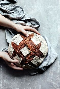 homemade whole grain sourdough bread . … homemade whole grain sourdough bread … Food Photography Styling, Food Styling, Ma Baker, Pain Au Levain, Bread Maker Recipes, Baking Classes, Western Food, Bread Bun, Whole Grain Bread