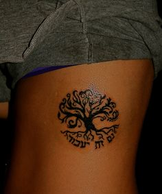 my first ink job. Tree of Life + this too shall pass. by TaylorRK, via Flickr