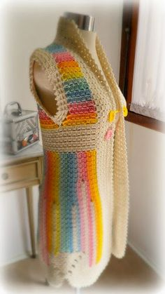 How to Crochet Cluster Stitch Clothing – Free Instructions and Ideas