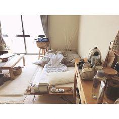 My Shelf/無印良品/ナチュラル/アンティーク/寝室/ベッド...などのインテリア実例 - 2017-08-01 12:38:28