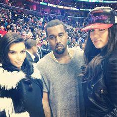 Kim, Kanye, Khloe