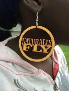Afrocentric HandCrafted Wood Earrings by MommysChocolateChip, $13.00