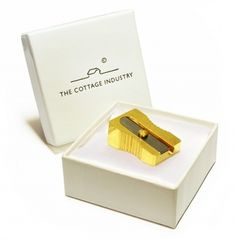 Dutch design only.  Golden sharpner by the Cottage Industry.