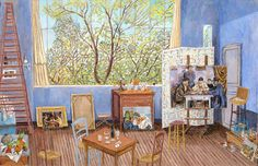 """Cezanne's Studio during the creation of the Card Players,""  2014, Damian Elwes"
