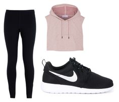 """""""Sports cute"""" by emmylong04 on Polyvore featuring adidas and NIKE"""