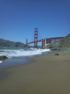 A beautiful sunny day at SF beach!