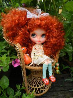OOAK Blythe Puppe Alice, einzigartige benutzerdefinierte Blythe Puppe von malinkaartz                                                                                                                                                                                 Mehr