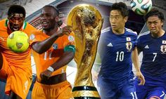 Gervinho and Swansea striker Wilfried Bony scored twice in two second half minutes to help the Ivory Coast come from behind against Japan and win their World Cup opener. Japan World Cup, World Cup 2014, Wilfried Bony, Ivory Coast, World Championship, Action, Live, News, Hot