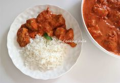 COOKING JULIA : POULET TIKKA MASSALA Tamil Nadu Food, Chana Masala, Nom Nom, Food And Drink, Chicken, Cooking, Ethnic Recipes, List, Nutrition