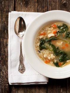 30 Minute Chicken and Rice Soup