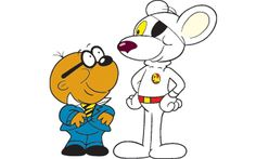 Danger Mouse and his sidekick, Penfold, will continue to operate from a red post box, although it will now be packed with cutting-edge technology 80s Kids Shows, Danger Mouse, Popular Cartoons, Rainbow Brite, Kids Tv, Animated Cartoons, Stop Motion, Comic Character, Super Funny