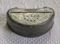 Vintage Belt Bait Box by vintagous on Etsy