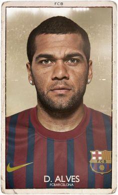 FC Barcelona Vintage Football Cards (19 pics)