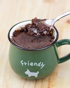 Uff esto tengo q hacerlo... Objetivo: Cupcake Perfecto.: Mug-cake de Nutella (y súper sorteo perruno!!!)