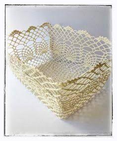 Resultado de imagem para caixas croche endurecido