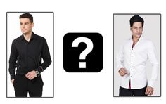 Black or White? Casual or Formal? Which one do you prefer?