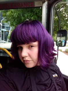 Recently dyed my hair purple using Joico Deep Amethyst Purple absolutely loving it!