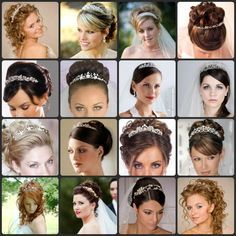 Hairstyle inspiration for when you will be wearing a tiara by Rock your Locks http://www.facebook.com/pages/Rock-your-Locks/133025596754055