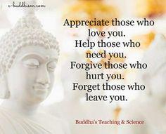 Buddha say...