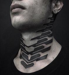 Ideas tattoo geometric neck for 2019 Back Tattoos, Body Art Tattoos, New Tattoos, Sleeve Tattoos, Cool Tattoos, Tech Tattoo, Arm Tattoo, Samoan Tattoo, Polynesian Tattoos
