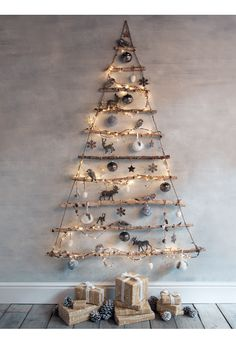 NEW Frosted Branches Hanging Tree - Bestsellers