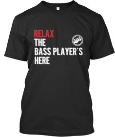 Limited-Edition: The Bass Player's here! | Teespring