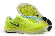 3a7a6588a948 Volt Barely Volt Reflect Silver Nike LunarGlide 4 Men s  Running Shoes   life Nike Sweatpants