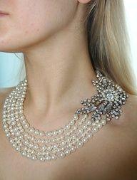 Beautiful necklace #bride #jewelry