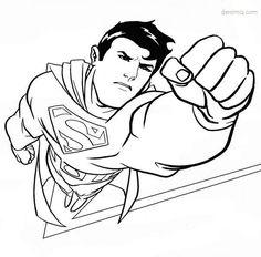 superman boyama resimleri ile ilgili görsel sonucu
