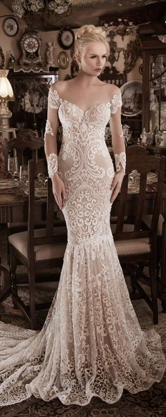 Naama Anat Fall 2016 Wedding Dress #coupon code nicesup123 gets 25% off at www.Provestra.com www.Skinception.com and www.leadingedgehealth.com