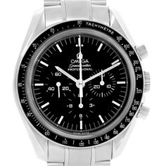 16553 Omega Speedmaster Exhibition Case Back Moon Watch 3573.50.00 Box Card SwissWatchExpo