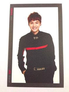 K-Pop BTS Bangtan Boys Suga Photo Card #5 Red Bullet Concert Official MD Yoongi