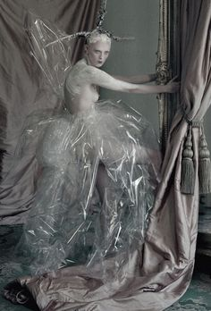 'The Lion King' Karen Elson photographed by Tim Walker for Love...
