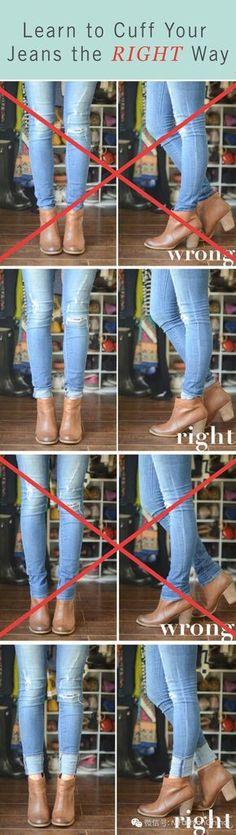 Cómo lucir correctamente tus botas al tobillo con jeans.