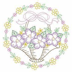 Vintage Embroidery, Custom Embroidery, Embroidery Thread, Machine Embroidery Designs, Embroidery Patterns, Applique Quilts, Cobbler, Vintage Floral, Quilt Blocks