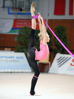 Anastasia Mulmina, ukraine rhythmic gymnastics athlete.