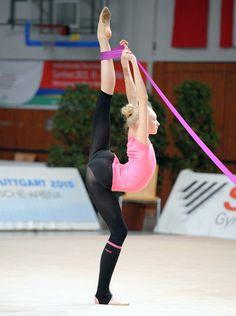 Anastasia Mulmina, ukraine rhythmic gymnastics athlete.