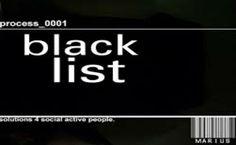 Nuove regole per la comunicazione Black List Black, Black People