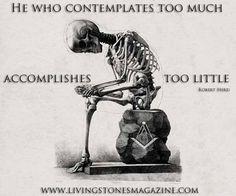 Freemasonry, contemplation, Living Stones Masonic Magazine, www.livingstonesmagazine.com