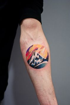 Mountain tattoos that rock? Ask for Martyna Popiel!