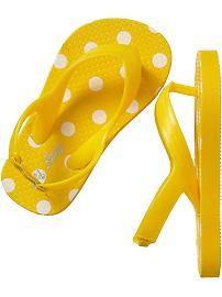 Printed Heel Flip-Flops for Baby                                                                                                        Regular Price    $3.94