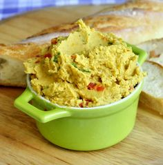 Our family loves hummus. We have several versions that we make and enjoy at almost any time. We serve it at get-togethers with friends, as a healthy snack or even as a great simple lunch with some good crusty bread like the great baguette from our local Georgestown Bakery. You don't need a reason to make some delicious hummus; just to have it on hand is reason enough.
