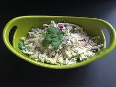 Friends have called this the best coleslaw they've ever eaten! Three-cabbage coleslaw recipe: http://wp.me/p2SJwY-Na