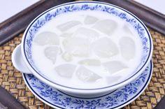 Toddy Palm in Coconut Milk (Thai Dessert) – Luk Tarn Buat ลูกตาลแกงบวด