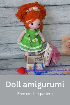 Crochet doll amigurumi free pattern girl crochet #dollcrochet #crochetdoll Doll Amigurumi Free Pattern, How To Start Knitting, Hello Everyone, Double Crochet, Free Crochet, Crochet Patterns, Teddy Bear, Bows, Arches